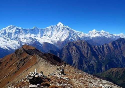 Annapurna range Nar Phu Valley